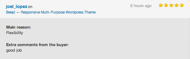 Beep! WordPress Theme Review