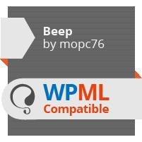WPML compatible WordPress theme