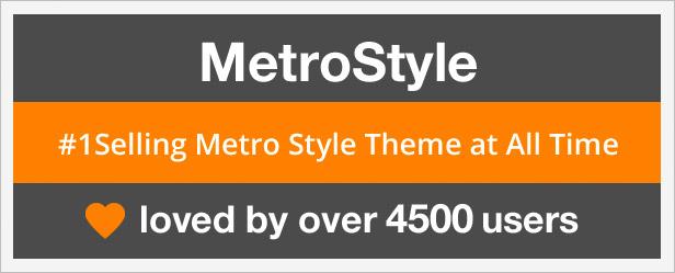 metro 4500 - MetroStyle Responsive All Purpose WordPress Theme
